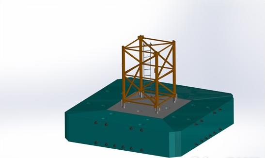 方圆集团预制分体式塔机基础试制获成功